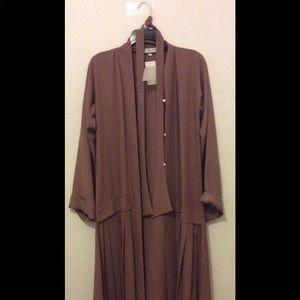 Abaya buth pink/ brown abaya EIDNWT, used for sale